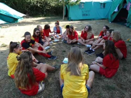 Meisjeskamp Bredene 2018